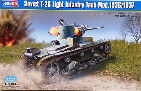 Soviet T-26 Light Infantry Tank Mod.1936/1937, 1:35 (pidemmällä toimitusajalla)