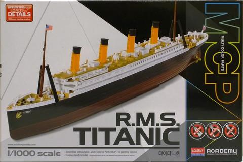 R.M.S Titanic, 1:1000 (pidemmällä toimitusajalla)