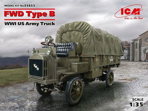 FWD Type B WWI U.S. Army Truck, 1:35