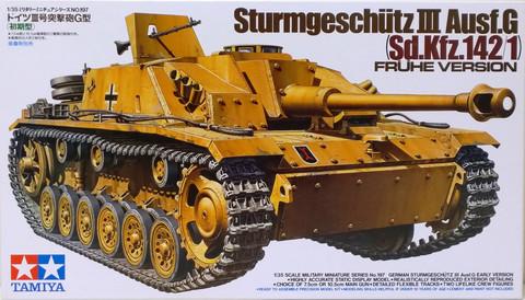 Sturmgeschütz III Ausf.G Frühe Version, 1:35 (pidemmällä toimitusajalla)