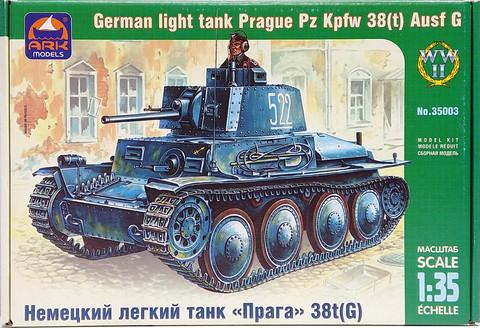 German Light Tank Pz.Kpfw. 38(t) Ausf.G, 1:35 (pidemmällä toimitusajalla)