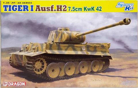 Tiger I Ausf.H2 7,5cm KwK 42, 1:35