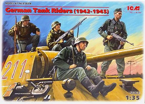 German Tank Riders (1942-1945), 1:35 (pidemmällä toimitusajalla)