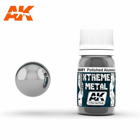 Xtreme Metal, Polished Aluminium 30ml