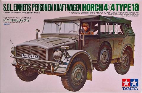 Horch 4x4 Type 1a, 1:35 (pidemmällä toimitusajalla)