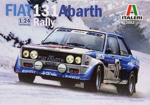 Fiat 131 Abarth Rally, 1:24 (pidemmällä toimitusajalla)