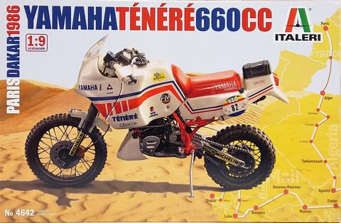 Yamaha Ténéré 660CC Paris Dakar 1986, 1:9 (pidemmällä toimitusajalla)