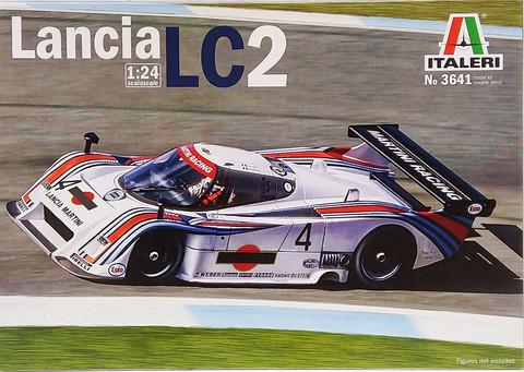 Lancia LC2, 1:24 (pidemmällä toimitusajalla)