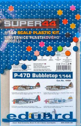P-47D Bubbletop, 1:144