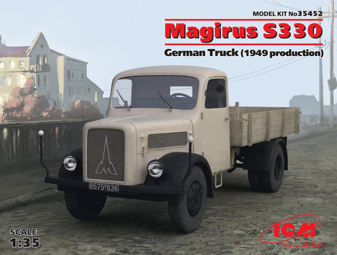 Magirus S330 German Truck (1949 Production), 1:35
