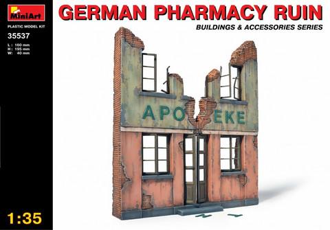 German Pharmacy Ruin, 1:35