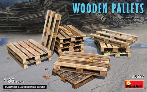 Wooden Pallets, 1:35