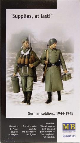 German Soldiers, 1944-1945 Supplies, at last!, 1:35
