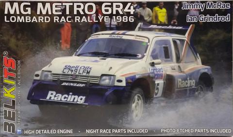 MG Metro 6R4 Lombard RAC Rallye 1986, 1:24