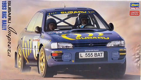 Subaru Impreza RAC Rally 1993, 1:24