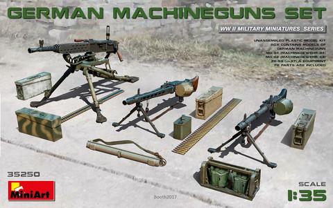 German Machineguns Set, 1:35 (pidemmällä toimitusajalla)