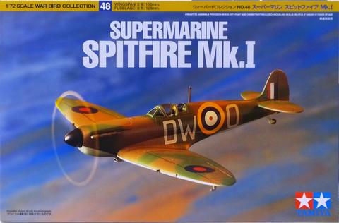 Supermarine Spitfire Mk.I, 1:72 (pidemmällä toimitusajalla)