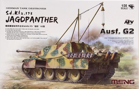 German Tank Destroyer Sd.Kfz.173 Jagdpanther Ausf.G2, 1:35