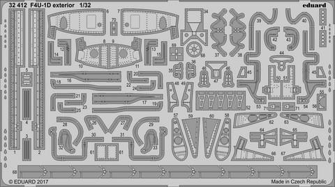 F4U-1D Exterior (for Tamiya), 1:32