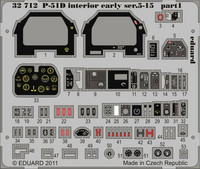 P-51D Interior Early Ser. 5-15 S.A. (for Tamiya), 1:32