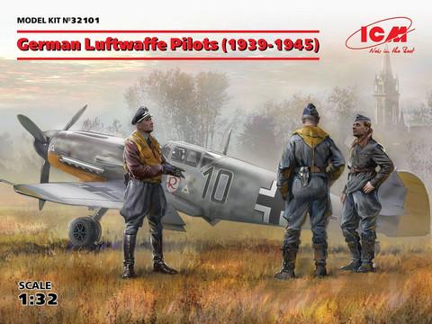 German Luftwaffe Pilots (1939-1945), 1:32