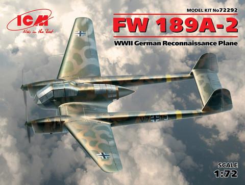 FW189 A-2, 1:72 (pidemmällä toimitusajalla)