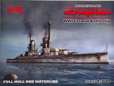 WWI German Battleship