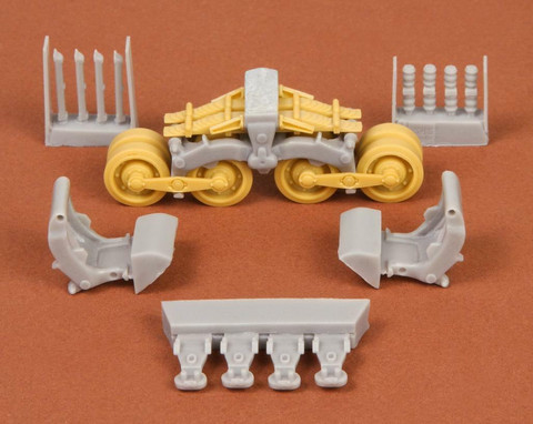 40/43M Zrinyi Suspension Set (for Bronco kit), 1:35