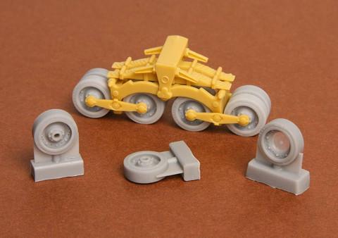 40/43M Zrinyi Assault Gun Roadwheels (for Bronco kit), 1/35