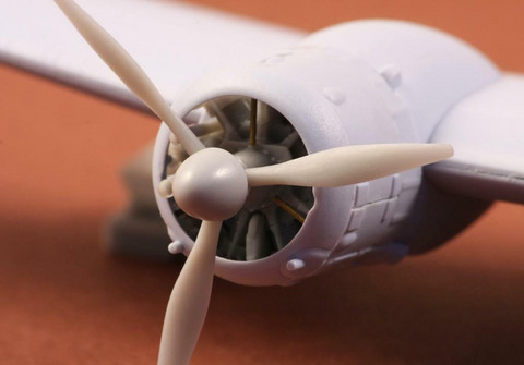 Bristol Blenheim Propeller Set Finnish version With VL Spinner (for Airfix Kit), 1:72