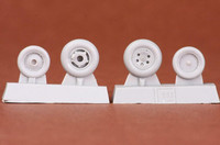 Folland Gnat T.1 Wheel Set (for AIRFIX kit), 1:48