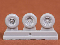 Harrier GR.7/GR.9 Wheel Set (for Airfix kit), 1:72