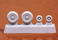 JAS-39C/D Gripen wheel set (for revell kit), 1:72