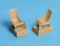 Messerschmitt BF-109 E Seat Without Harness, 1:48