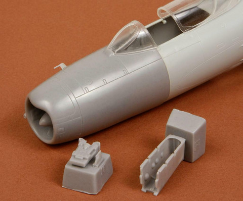 MIG-19 PM Correct Nose (for Trumpeter kit), 1:48
