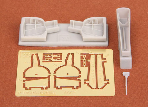 P-39Q/N Airacobra Wheel Bays (for Academy kit), 1:72