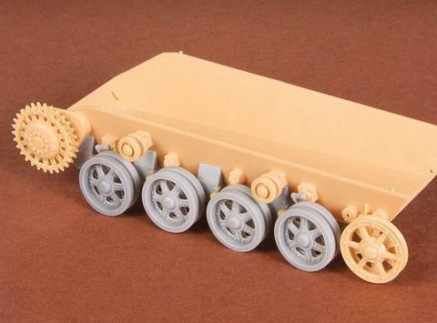 Toldi I-II-III Roadwheels & Suspension (for Hobby Boss kit), 1:35