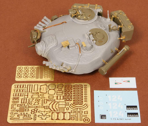 T72 M1/A Turret Detail Set (for Tamiya kit), 1:35