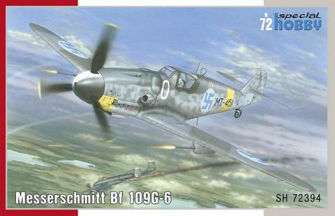 Messerschmitt Bf 109G-6, 1:72 (pidemmällä toimitusajalla)