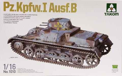 Pz.Kpfw.I Ausf. B, 1:16 (pidemmällä toimitusajalla)