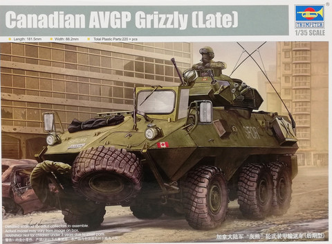 Canadian AVGP Grizzy (Late), 1:35