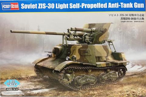Soviet ZIS-30 Light Self-Propelled Anti-Tank Gun, 1:35