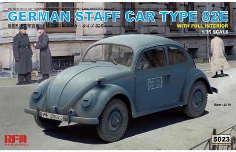 German Staff Car Type 82E, 1:35 (pidemmällä toimitusajalla)