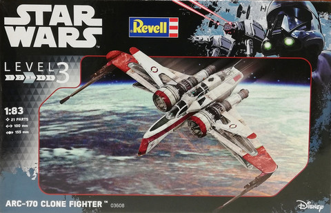Star Wars, ARC-170 Clone Fighter, 1:83