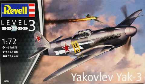 Yakovlev Yak-3, 1:72