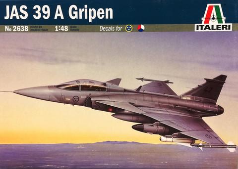 JAS 39 A Gripen, 1:48 (pidemmällä toimitusajalla)