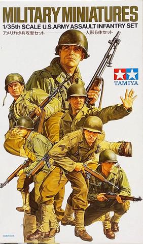 U.S. Army Assault Infantry Set, 1:35 (pidemmällä toimitusajalla)