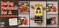 Racing Mechanic Set A, 1:24