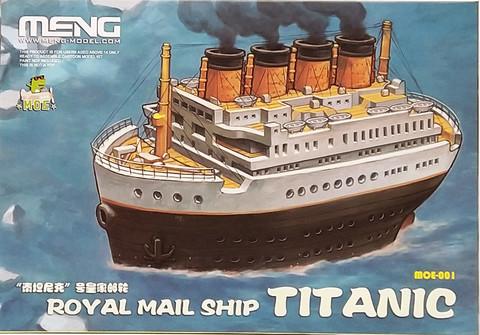 Royal Mail Ship Titanic (pidemmällä toimitusajalla)