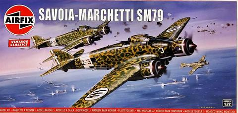 Savoia-Marchetti SM79, 1:72